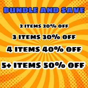 BUNDLE AND SAVE UP TO 50% OFF
